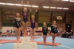 Mara Damstra 1e en Anna Wensink 3e