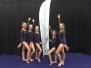 Nynke Swart, Marieke de Beer, Sanne en Wietske Stuivenvolt Nederlands Kampioen Microteam Springen