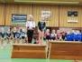 Zaterdag 12 januari stond de eerste plaatsingswedstrijd voor turnsters uit de C selectie klein en préselectie op het programma.